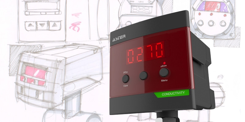 Aster Water Meter Design
